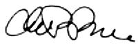 Chuck Goldstone Signature